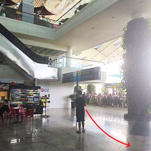 インドネシア - スカルノ・ハッタ国際空港 WIFI 到着ゲート受取