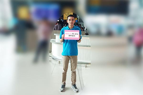 デンパサール国際空港(ングラ・ライ国際空港)WIFI 到着ゲート受取