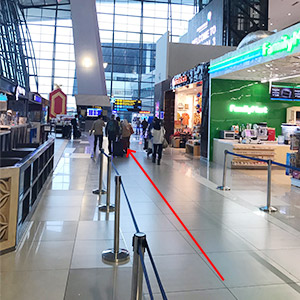 インドネシア - スカルノ・ハッタ 国際空港 ターミナル3 到着ゲート受取